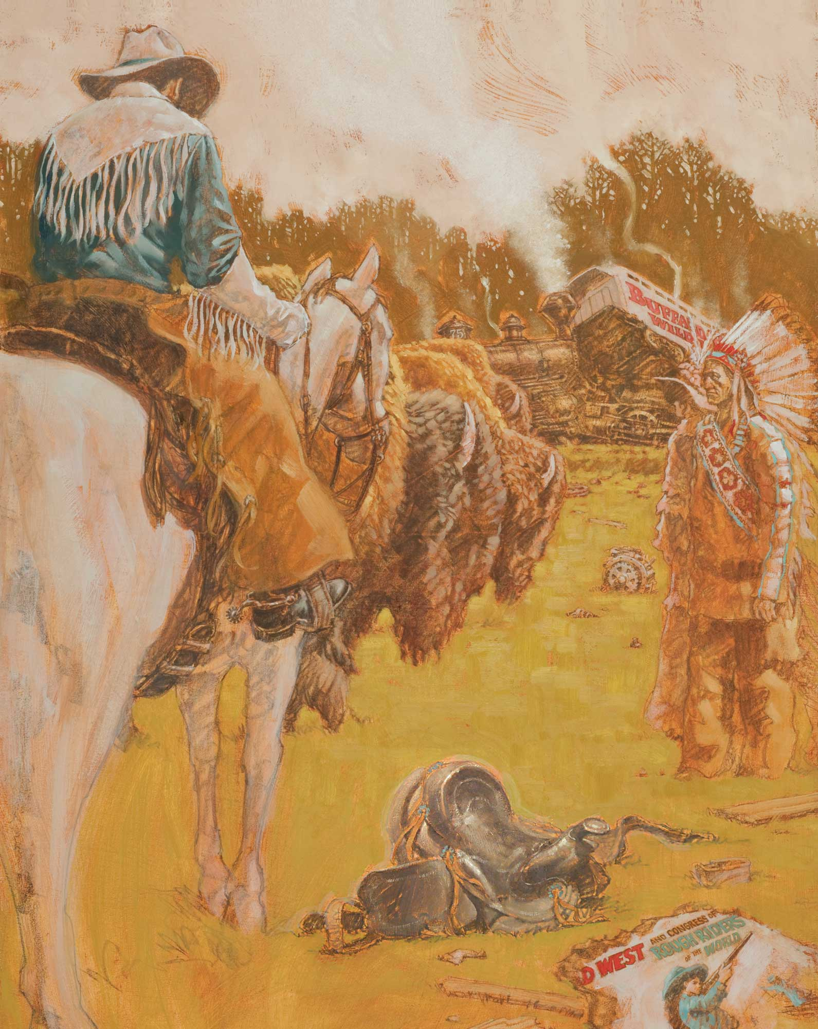 Buffalo Bill Derailed in Davidson County   Our State Magazine