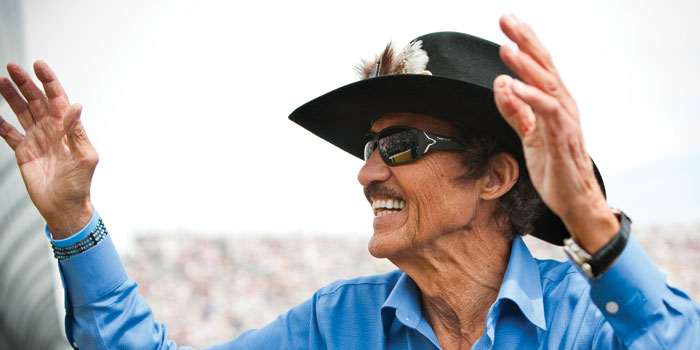 Richard Petty NASCAR king