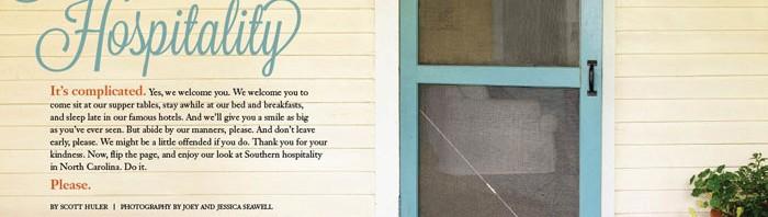 Southern Hospitality by Scott Huler