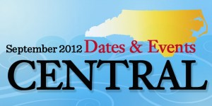 Dates & Events in Central North Carolina in September