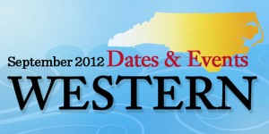 Dates & Events in Western North Carolina in September