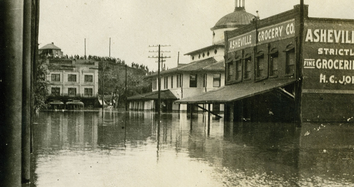 Hell and High Water: The Flood of 1916   Our State Magazine