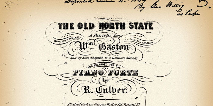 The-Old-North-State-Sheet-Music