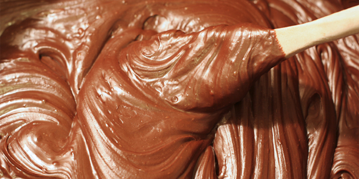 Stirring Chocolate Fudge