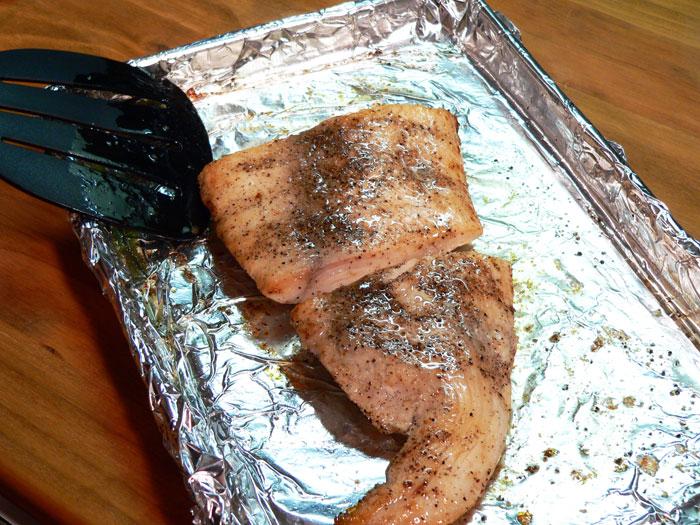 mahi-mahi recipe - turn the fish