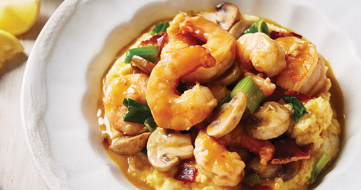 Shrimp and Grits in North Carolina