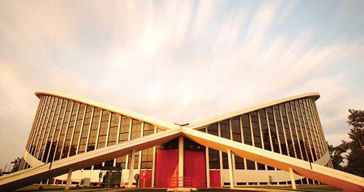 The Big Chip Dorton Arena Our State Magazine