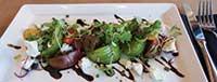 Heirloom tomato salad at vidalia