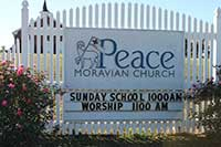 Peace Moravian Church Lovefeasts