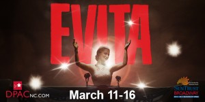 Evita at DPAC