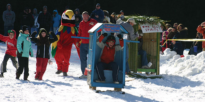 Sapphire Valley Outhouse Race