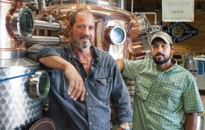 Bob Weihe and Joel Patrino, founders of Defiant Whisky. Photo by Matt Rose.