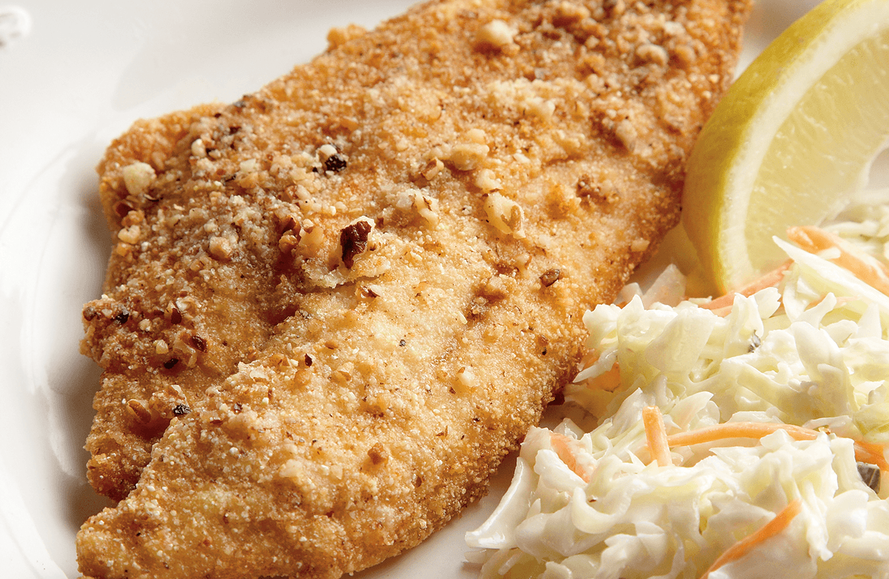 Catawba Pecan-Crusted Catfish – Our State Magazine