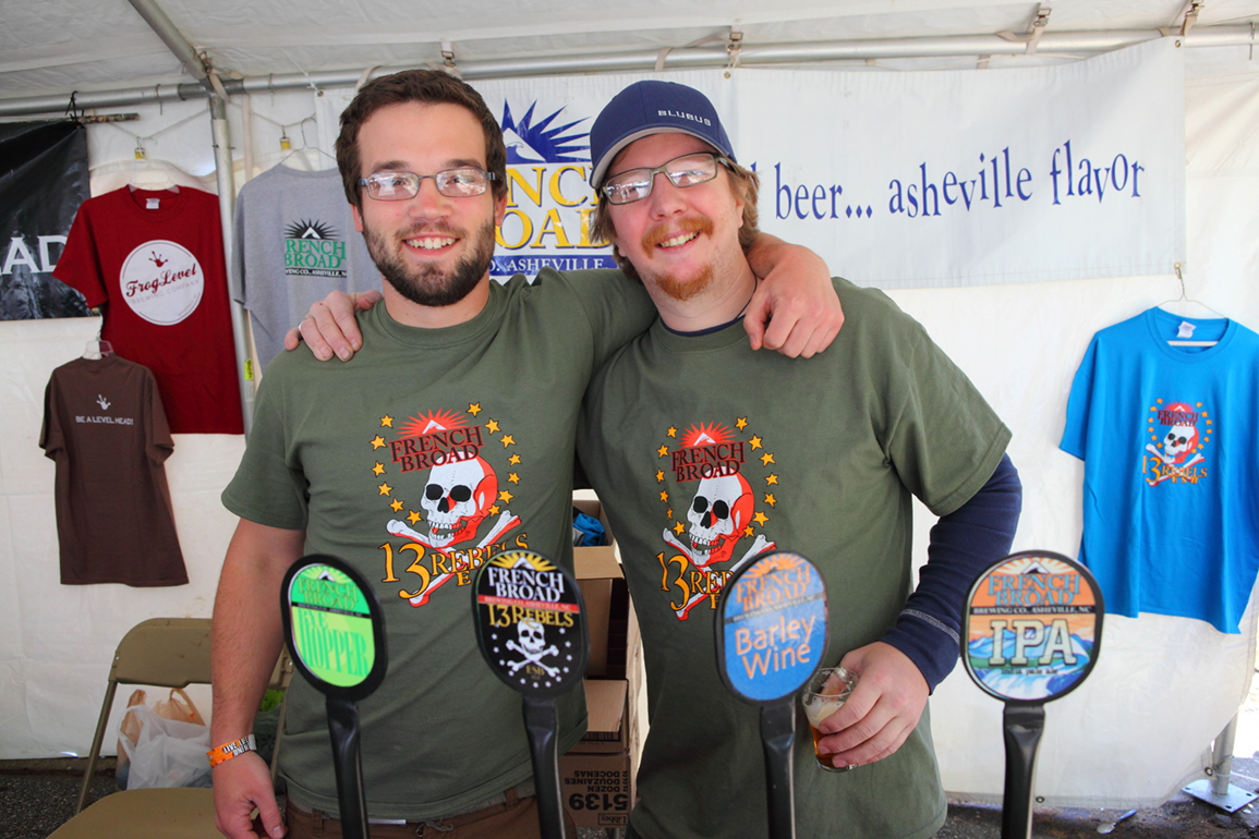 The Hickory Hops beer festival, which began in 2002, features the Carolinas Championship of Beers. The host is Olde Hickory Brewery. Photo Courtesy VisitNC.com.