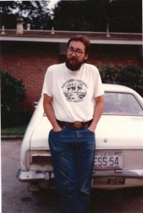 Newberry with car that broke down leaving him in North Carolina.
