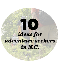 10 places for adventure seekers in NC