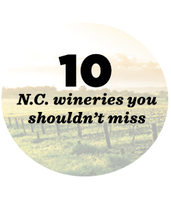 10 NC wineries not to miss