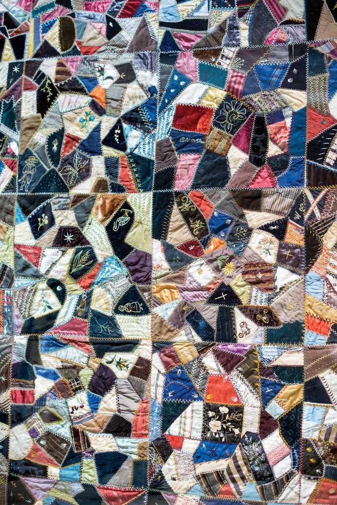 The Buena Vista Spruill McLees Quilt in Columbia Museum, Columbia, NC.
