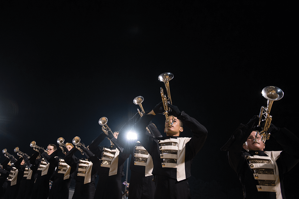 Fans demanded an encore following Carolina Gold's performance in the 2014 Southern Classic Drum Corps Competition, and the band obliged.