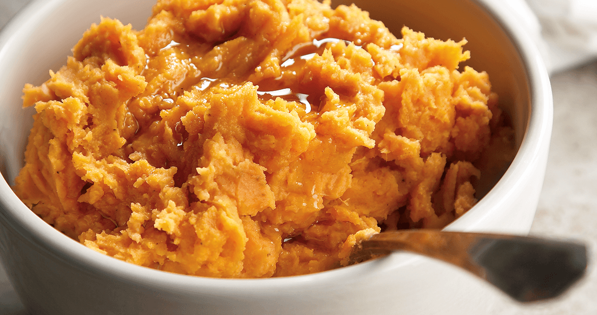 mashed sweet potatoes feat