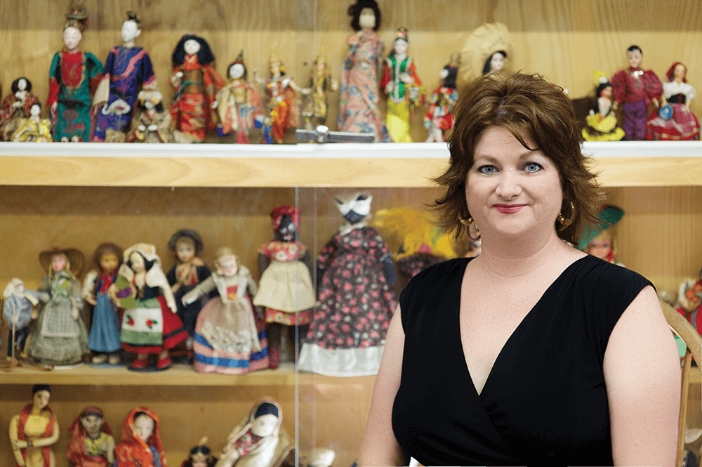 "Whatever your age, the Doll and Toy Museum in Spencer probably has the toy you cherished. Amy's sister, Beth Morris Nance, knows the stories behind the toys, including the saga of ""the sad German rag doll,"" owned by a child of Nazi sympathizers."