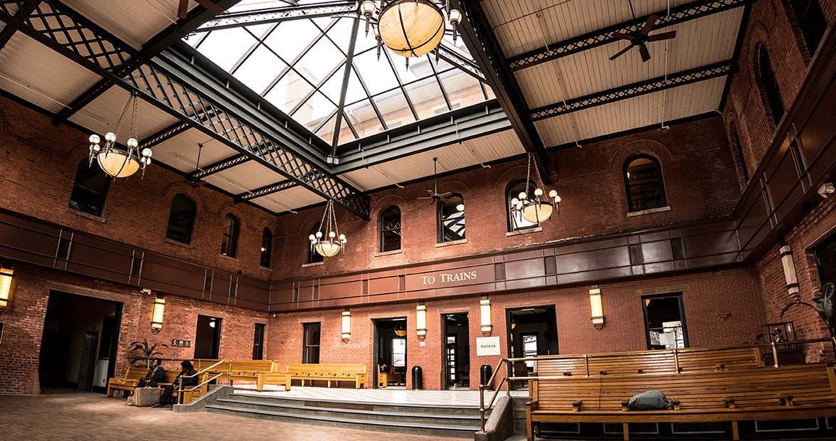 Rocky Mount Depot-lobby