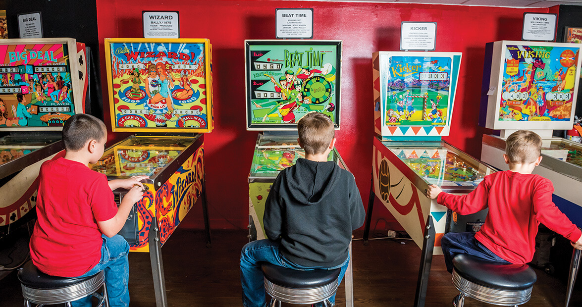 Image result for Asheville Pinball Museum, Asheville, NC