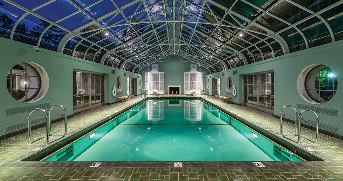 reynolda house swimming pool