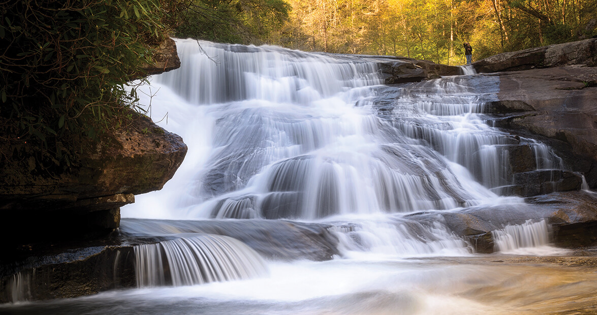 transylvania county waterfalls