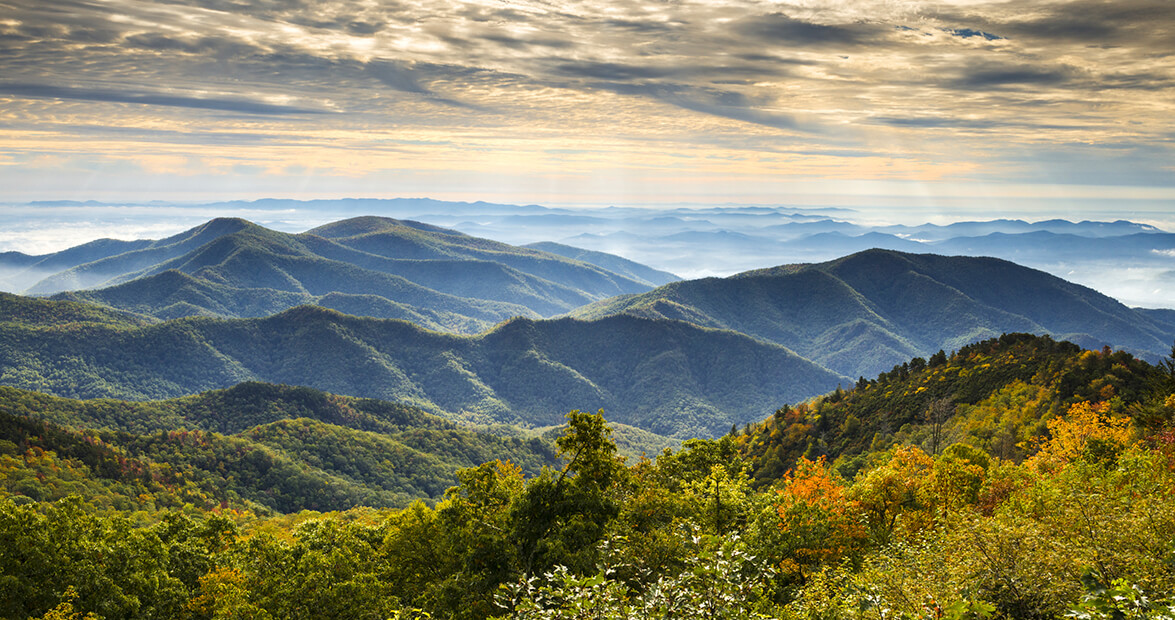 why are the blue ridge mountains blue our state magazine