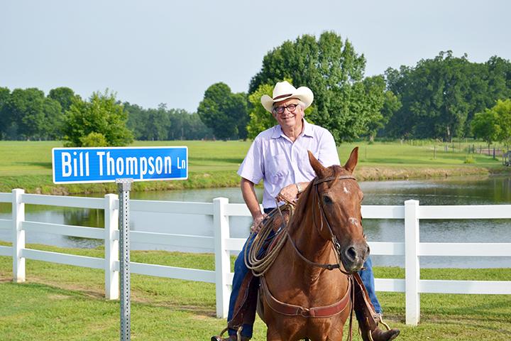 Former president Bill Thompson strived to shape the futures of forgotten children.