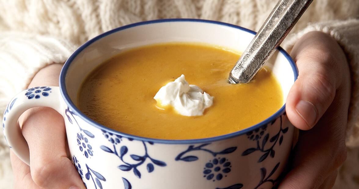 Sweet Potato & Ginger Soup