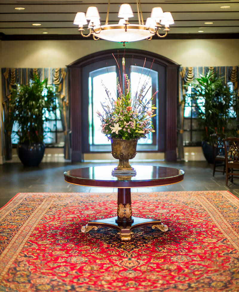 washington duke inn lobby