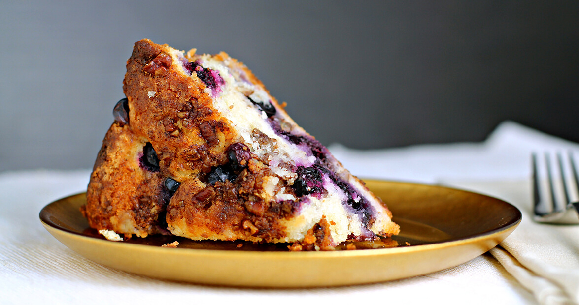 Blueberry Coffee Cake Recipe — Our State Magazine