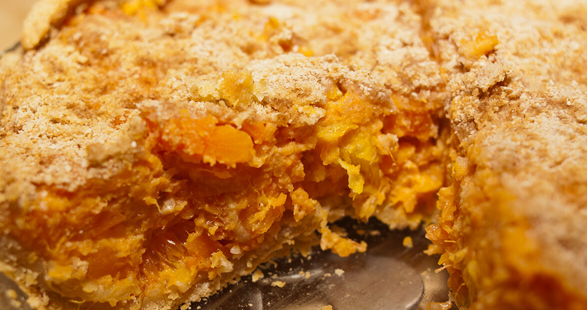 sweet potato orange casserole