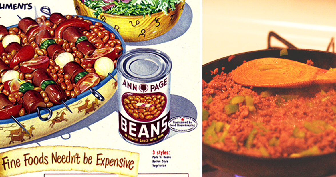 beans mexicana casserole