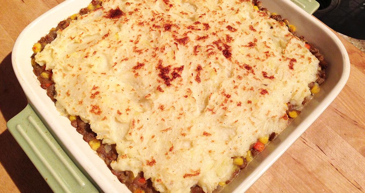 livermush shepherd's pie