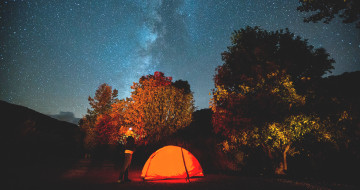 open sky camping