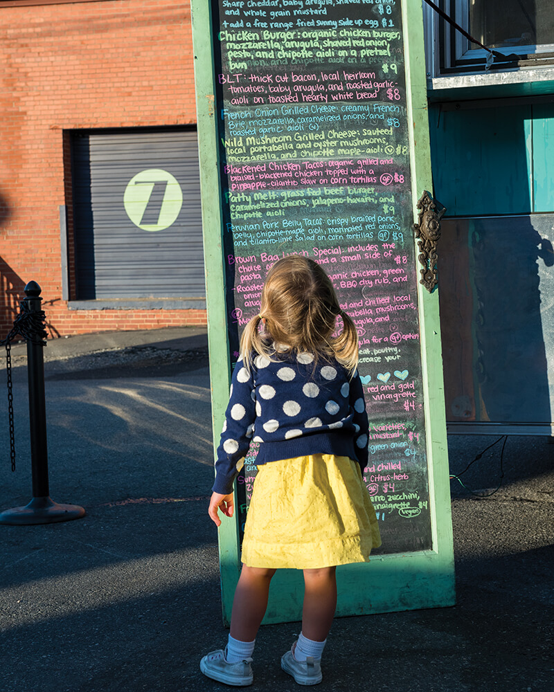 bleu barn bistro menu