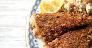 pecan crusted flounder