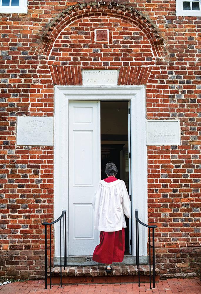 st thomas episcopal door