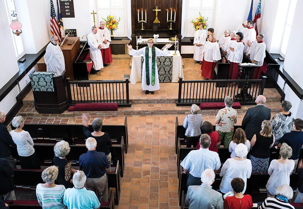 st thomas episcopal service