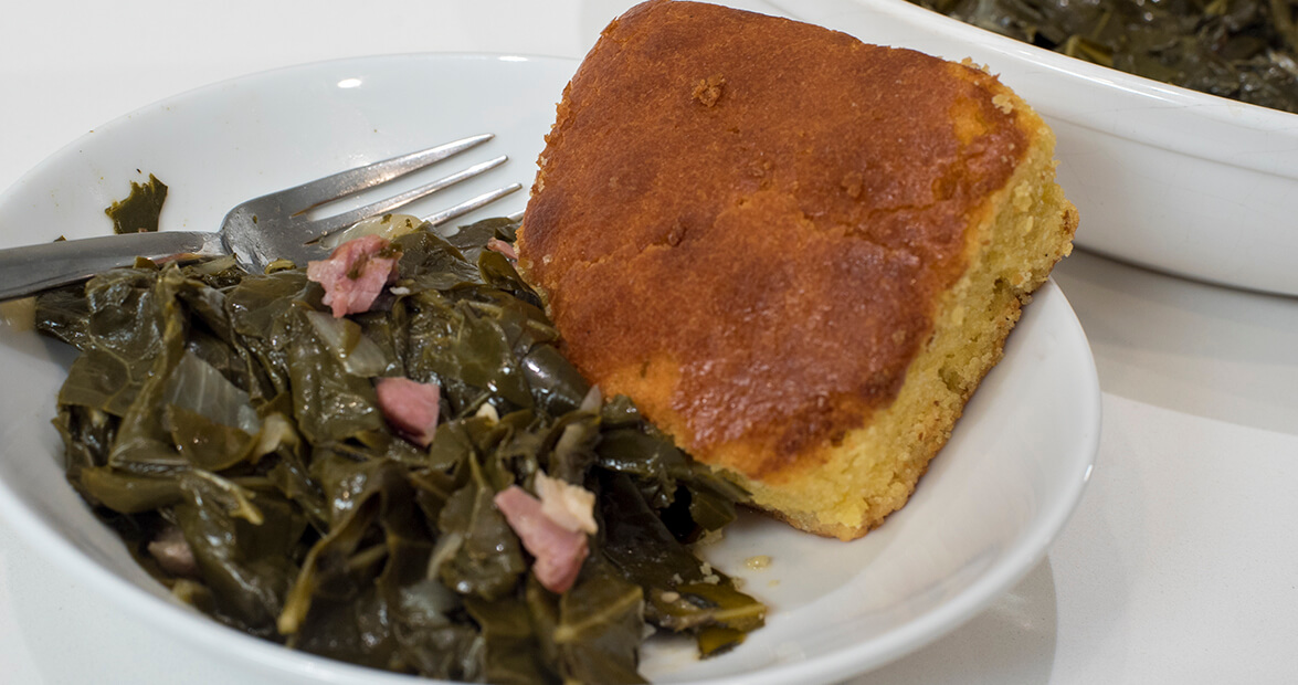 trad collards feat