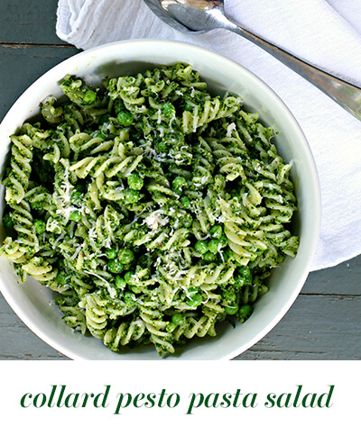 bitesize collard pesto