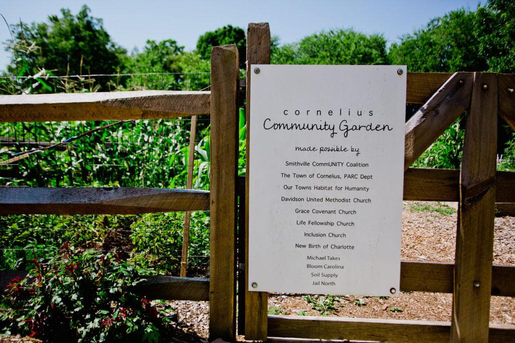 Cornelius community garden