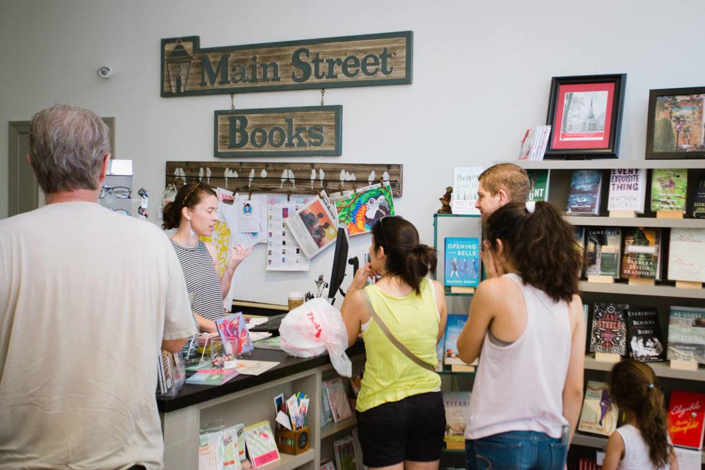 Davidson Main St book store 2