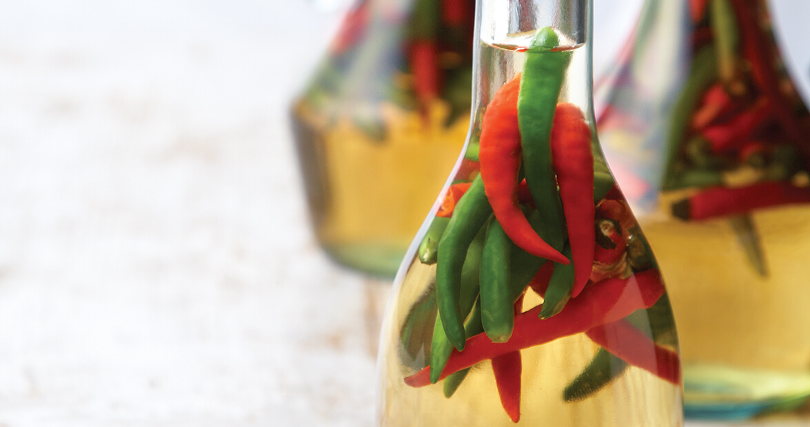 chili pepper vinegar