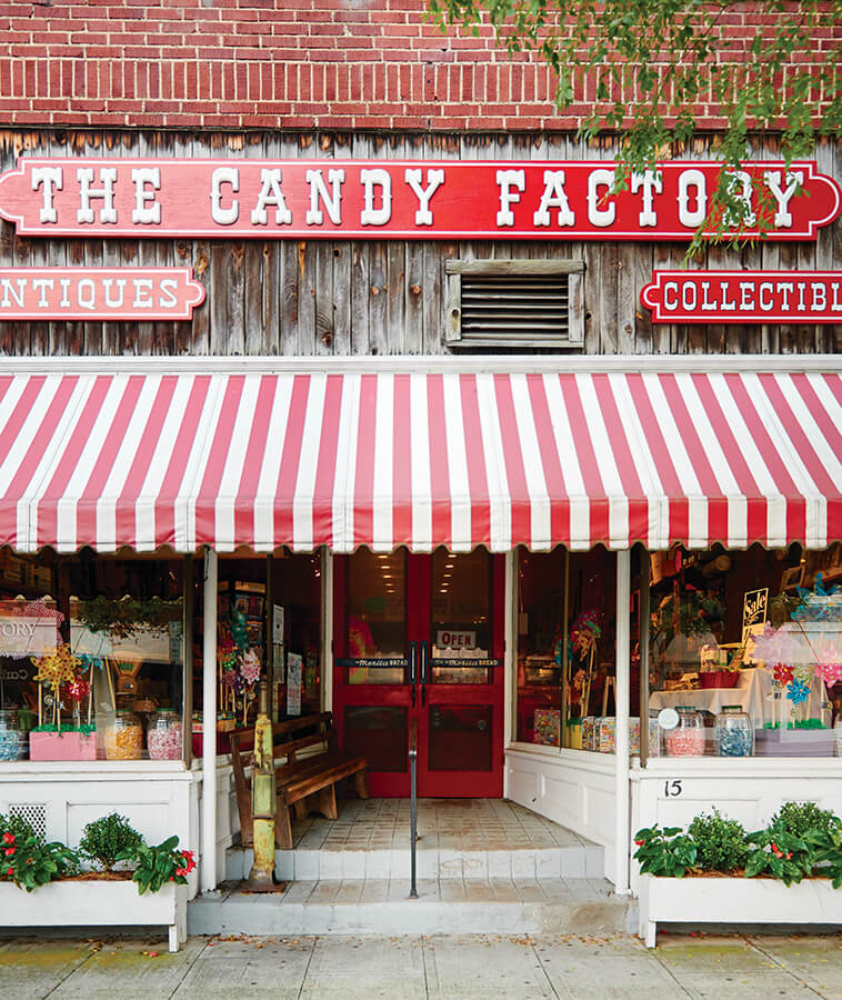 The Candy Factory Weighs Nostalgia by the Pound