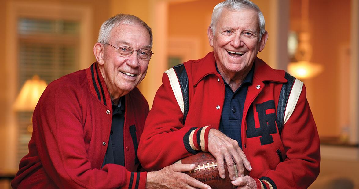 History: A Football Friendship Lives On