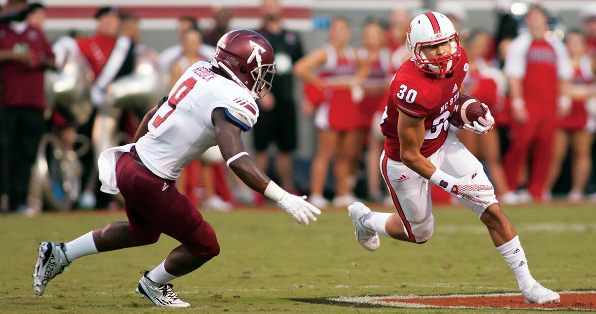 NC State Wide Receiver's Journey from Walk-On to Starter